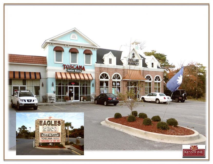 Pink House Square Shopping Center-For Sale