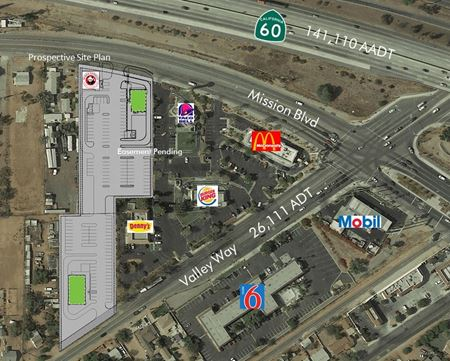 6988 Mission Blvd-Jurupa Valley-Proposed Drive Thru Pads for GL or BTS - Jurupa Valley