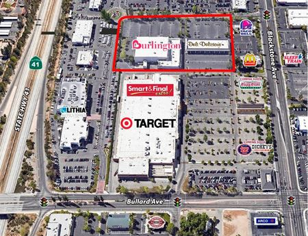 Prime Blackstone Ave Burlington Plaza Space Available - Fresno