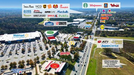 SC Spartanburg – Eastpointe Shopping Center - Spartanburg