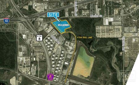 For Lease   Rail Served Industrial Building ±79,553 SF Available - Channelview