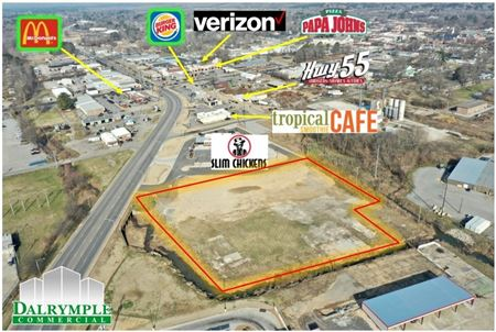 Commercial Lot on Beebe Capps - Searcy
