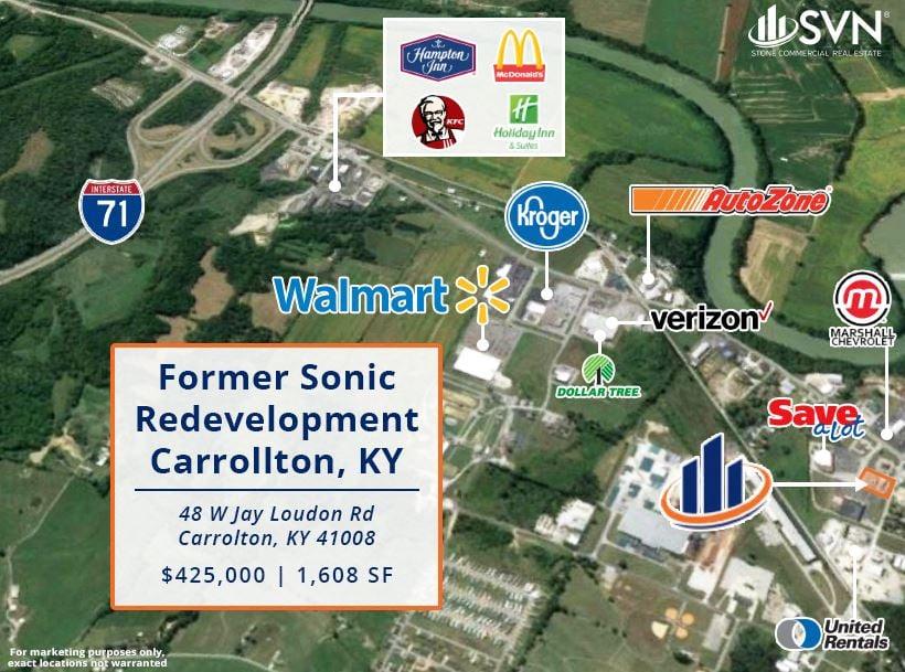 Former Sonic Redevelopment - Carrollton, KY