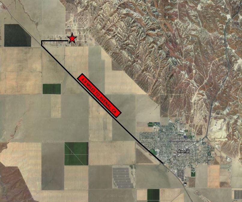 ±0.99 Acres of Vacant Land in Coalinga, CA