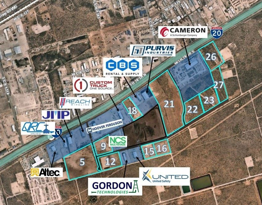 Lots for Sale in PHX Permian Park