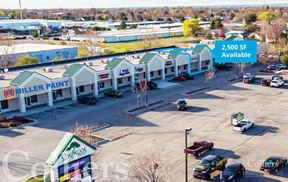 Retail Space For Lease | Oakbrook Plaza | Meridian, ID