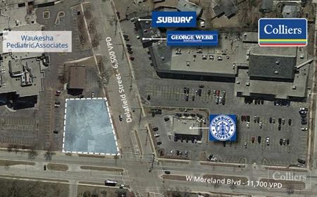 Land Available For Ground Lease - Waukesha