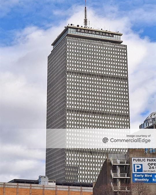 Prudential Center - Prudential Tower