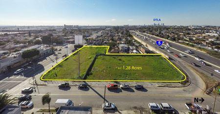 +/-1.28 Acre Lot for Sale   East Los Angeles - Los Angeles