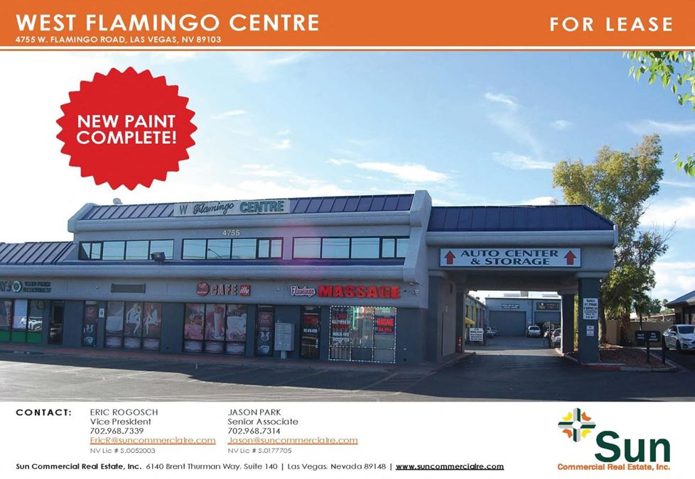 West Flamingo Centre