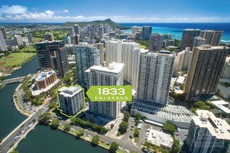 Waikiki Retail and Office Space for Lease - 1833 Kalakaua - Honolulu