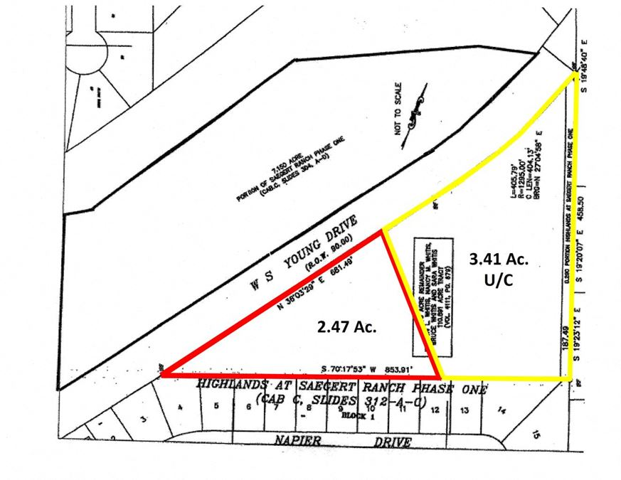 2.47 Acres S. WS Young Dr.