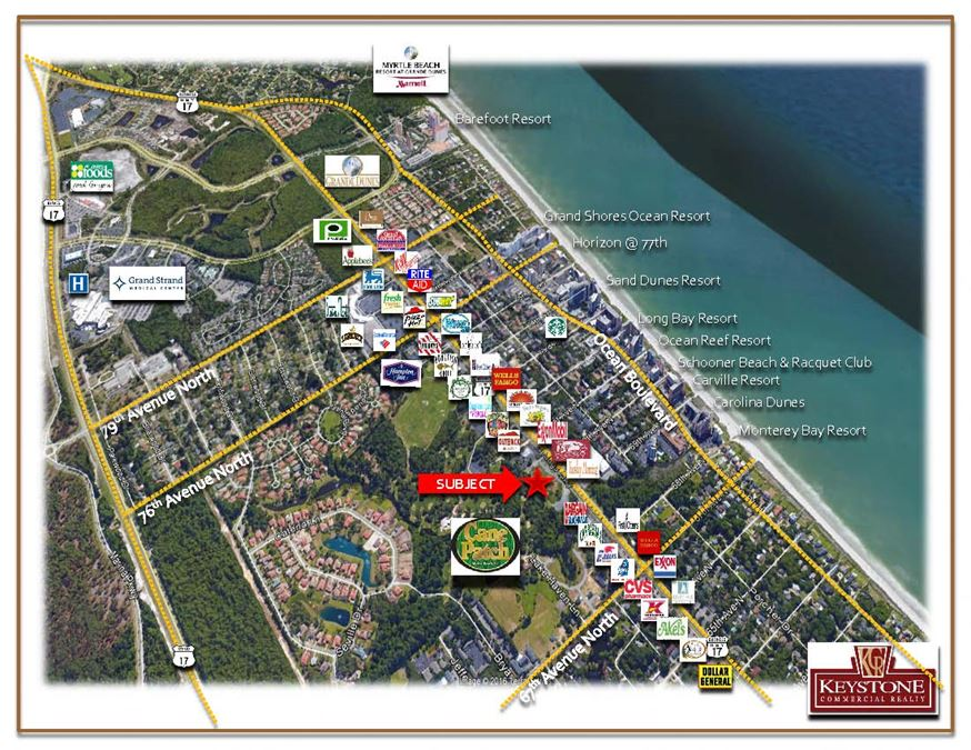 Cane Patch-1.62 Acres-Land for Sale Myrtle Beach, SC