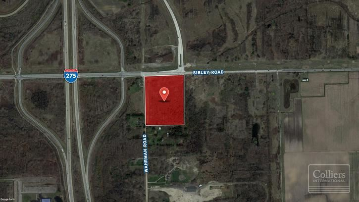 For Sale > 12.840 Acres Sibley and Wahrman Roads Huron Twp. MI