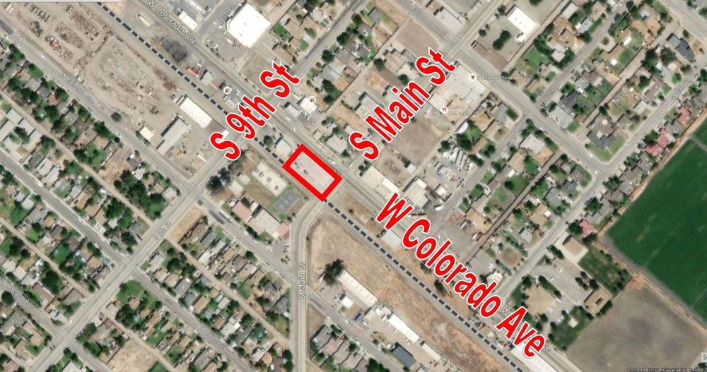 ±9,000 SF of Fully Improved Vacant Land