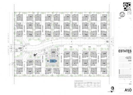 Citrus Estates - Multifamily Land for 70-104 Units - Perris