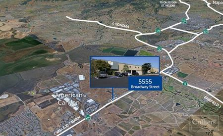 WAREHOUSE/DISTRIBUTION BUILDING FOR SALE - American Canyon