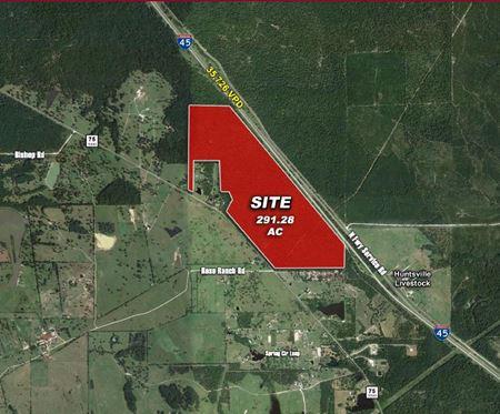 I-45 N near Huntsville - 291.28 Acres - Huntsville