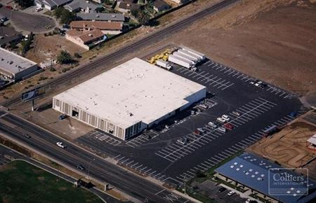 WAREHOUSE/DISTRIBUTION BUILDING FOR LEASE AND SALE - Stockton