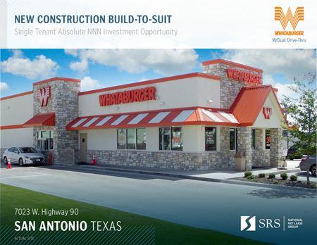 San Antonio, TX - Whataburger - San Antonio