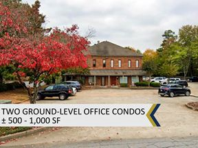 Ground-Level Office Condo | ± 500 SF - Roswell