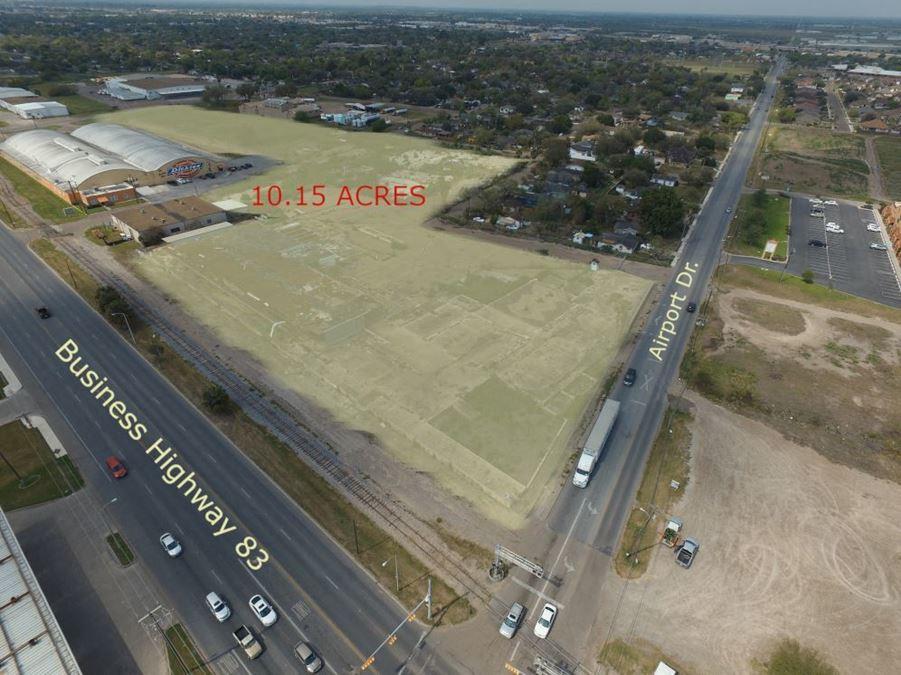 Weslaco Development Land on Business 83 & Mile 4