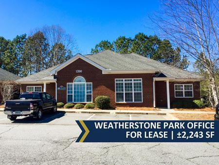 Weatherstone Park Office Opportunity | ± 2,243 SF - Woodstock