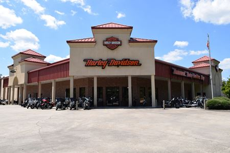 Net Leased Harley Davidson Dealership Facility for Sale - Hammond