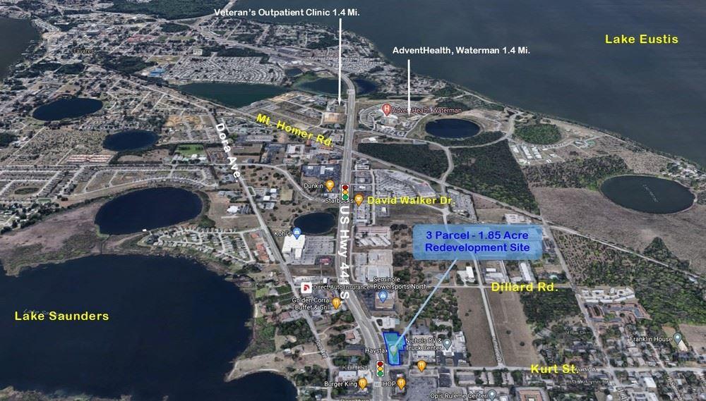 Retail/Office/Land portfolio for sale in Eustis FL.