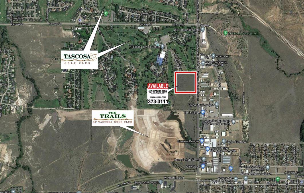 Western -  9.78 acres North of Amarillo Blvd