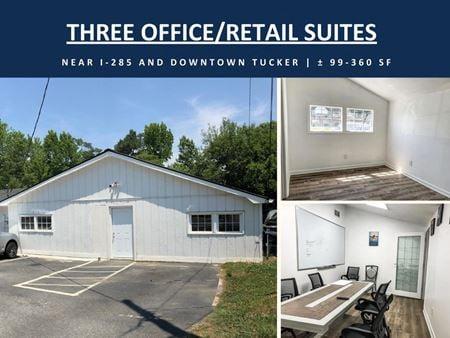 Three Office/Retail Suites near I-285   ± 99-360 SF - Tucker