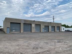 ±17,600 sf in two industrial buildings and ±9 acres on I-91 in Hartford for lease