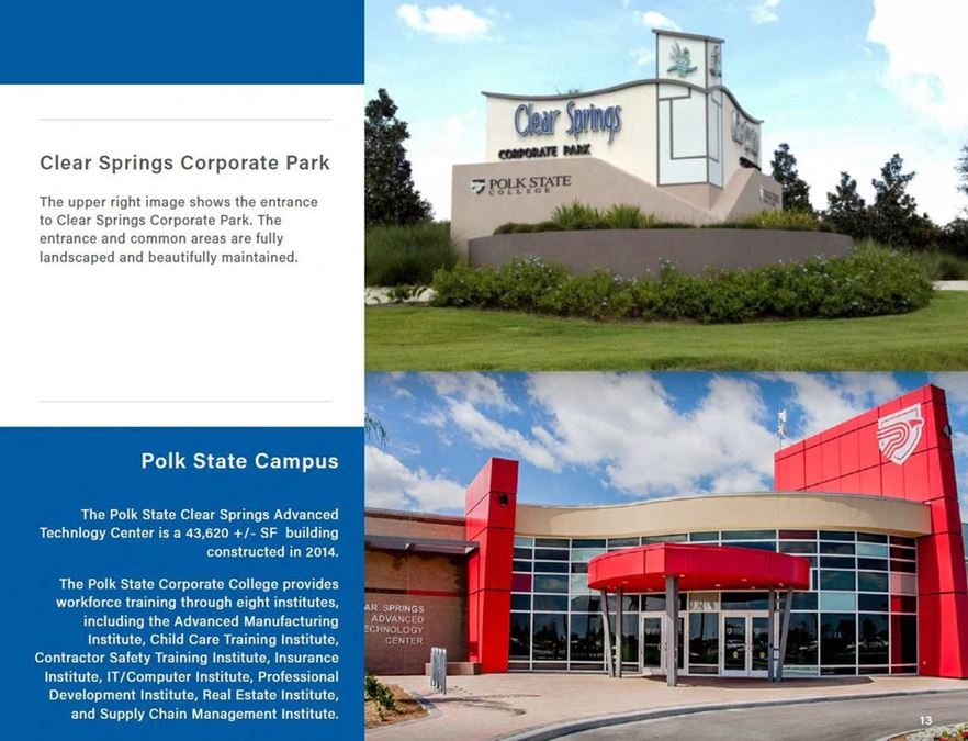 Clear Springs Corporate Park