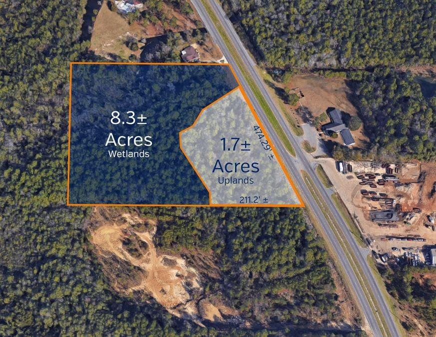 Pine Forest Rd 1.2 Miles South of I10 (1.7+/- Acres Uplands, COM)