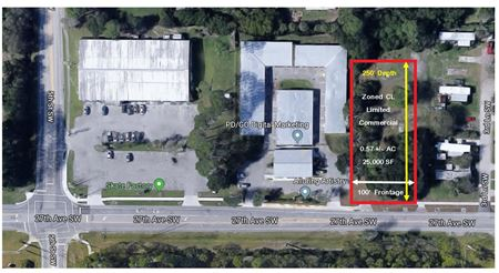 Commercial Vacant Land 0.57 Acres - Zoned CL - Vero Beach