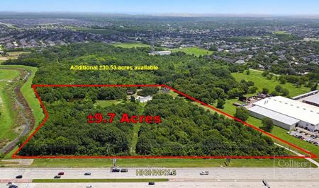 For Sale | ±9.766 Acre Commercial Tract in Fresno, Texas - Fresno