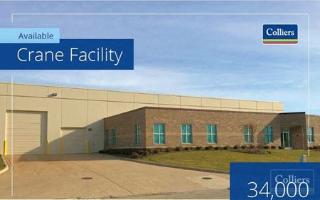 34,000 SF Crane Facility Available for Lease in Romeoville - Romeoville