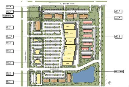 Derby Development Land 25.5 Acres - 63rd & Rock Rd - Derby