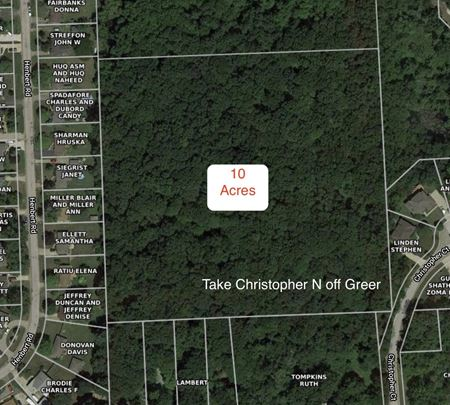 Vacant 10 acres - Christopher Court - West Bloomfield