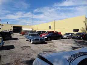 Auto Body Shop; Paint Booth; Parking