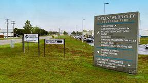 Prime User/Owner Opportunity in the Joplin/Webb City Industrial Park - St. Louis