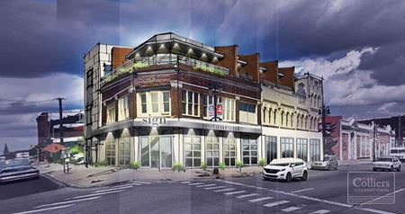 For Lease - Retail / Mixed-Use - Former Busy Bee Hardware - Detroit