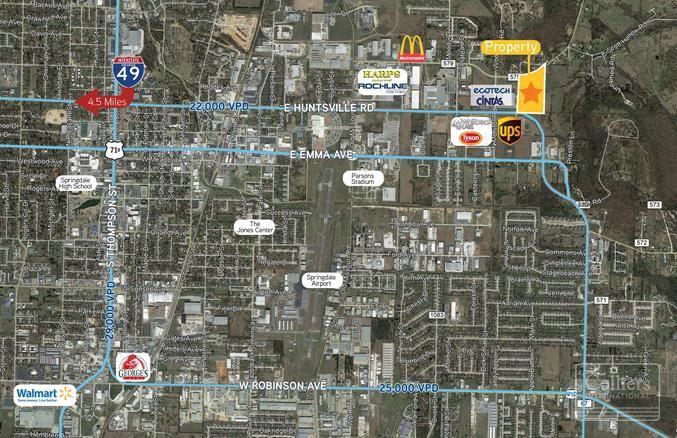 N Monitor Road & E Huntsville Avenue, Springdale