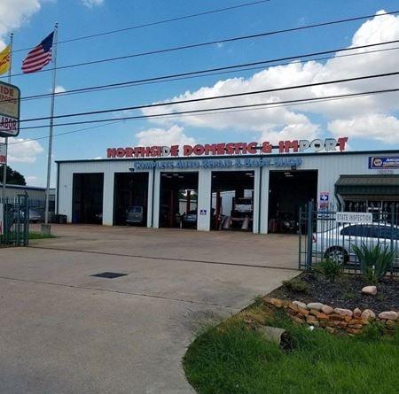 14,700 SF Automotive Shop on Veterans Memorial - Houston