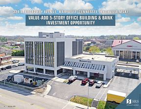 Maryville, TN - Office Building & Renasant Bank - Maryville