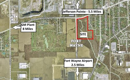 Commercial Retail and Office Land Available - Fort Wayne