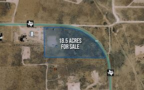 18.5 Acres For Sale on FM 1787 - Odessa