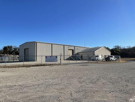 7,750 SF Shop w/ Wash-Bay + Laydown Yard - Weatherford