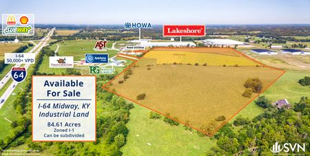 Midway, KY I-64 Industrial Land - Midway