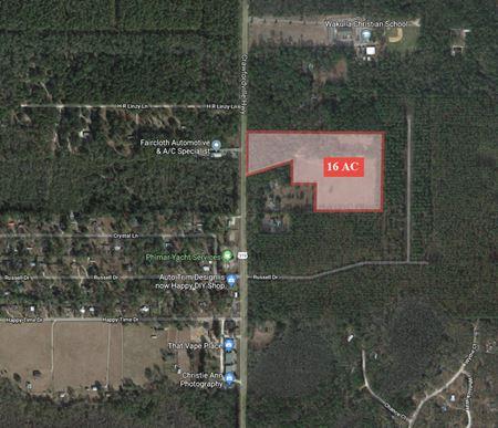 16+ Acres Development Potential - Crawfordville